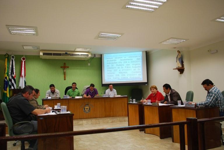 Vereadores fazem primeira sessão do semestre