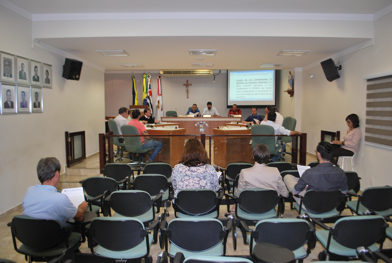 Representantes da secretaria de Planejamento Urbano detalham, em Audiência Pública, projeto de parcelamento e ordenamento do uso do solo