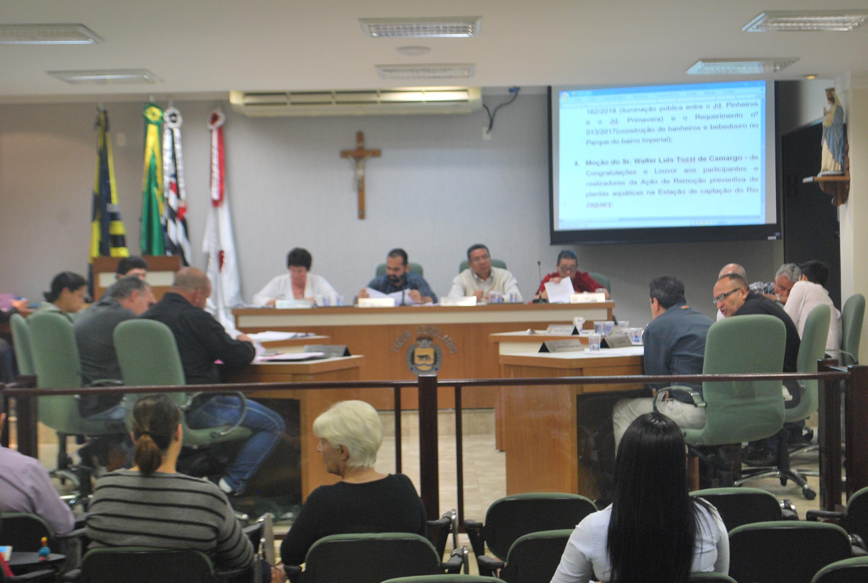 Oito proposituras constam na Ordem do Dia da 18ª Sessão Ordinária desta terça-feira (21)
