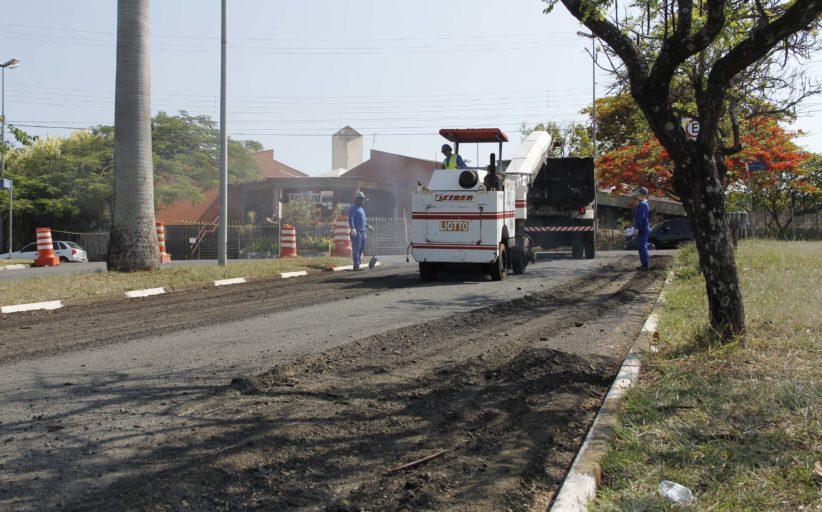 Prefeitura de Jaguariúna inicia ação de recapeamento em ruas e avenidas