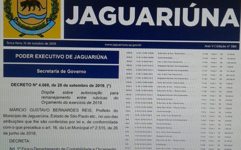 Vereadores aprovam projeto que altera a lei que dispõe sobre a imprensa oficial eletrônica