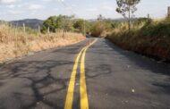 Prefeitura conclui pavimentação asfáltica da estrada Amadeu Bruno