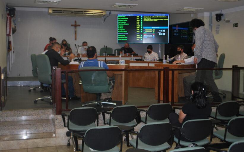 Projeto de lei e requerimento para constituição de Comissão de Assuntos Relevantes são aprovados na 3ª sessão ordinária do ano