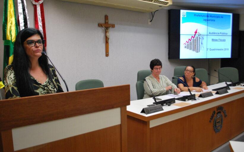 Audiência Pública das Metas Fiscais, relativas ao terceiro quadrimestre de 2020, será nesta segunda-feira (22) na Câmara Municipal